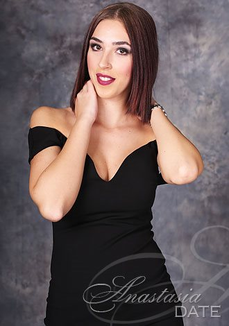 Gorgeous single women: Milena from Belgrade, blue sapphires Russian lady